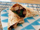tortilla senza glutine con pollo piccante